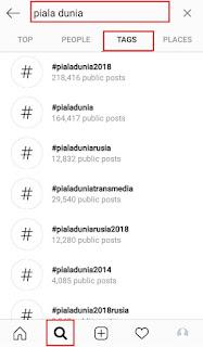 Cara Melihat Hashtag Populer Di Instagram