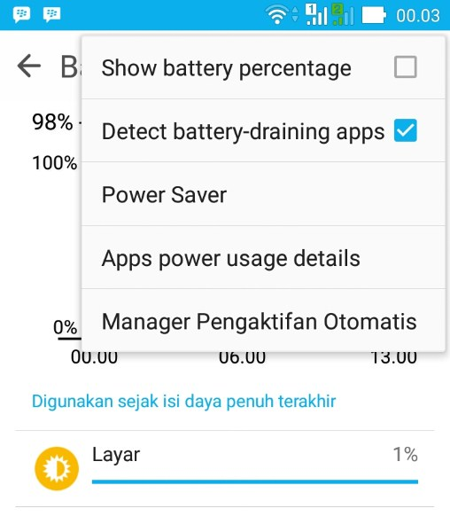 Cara Mengatasi Detected Battery Draining Apps Pada Smartphone Asus