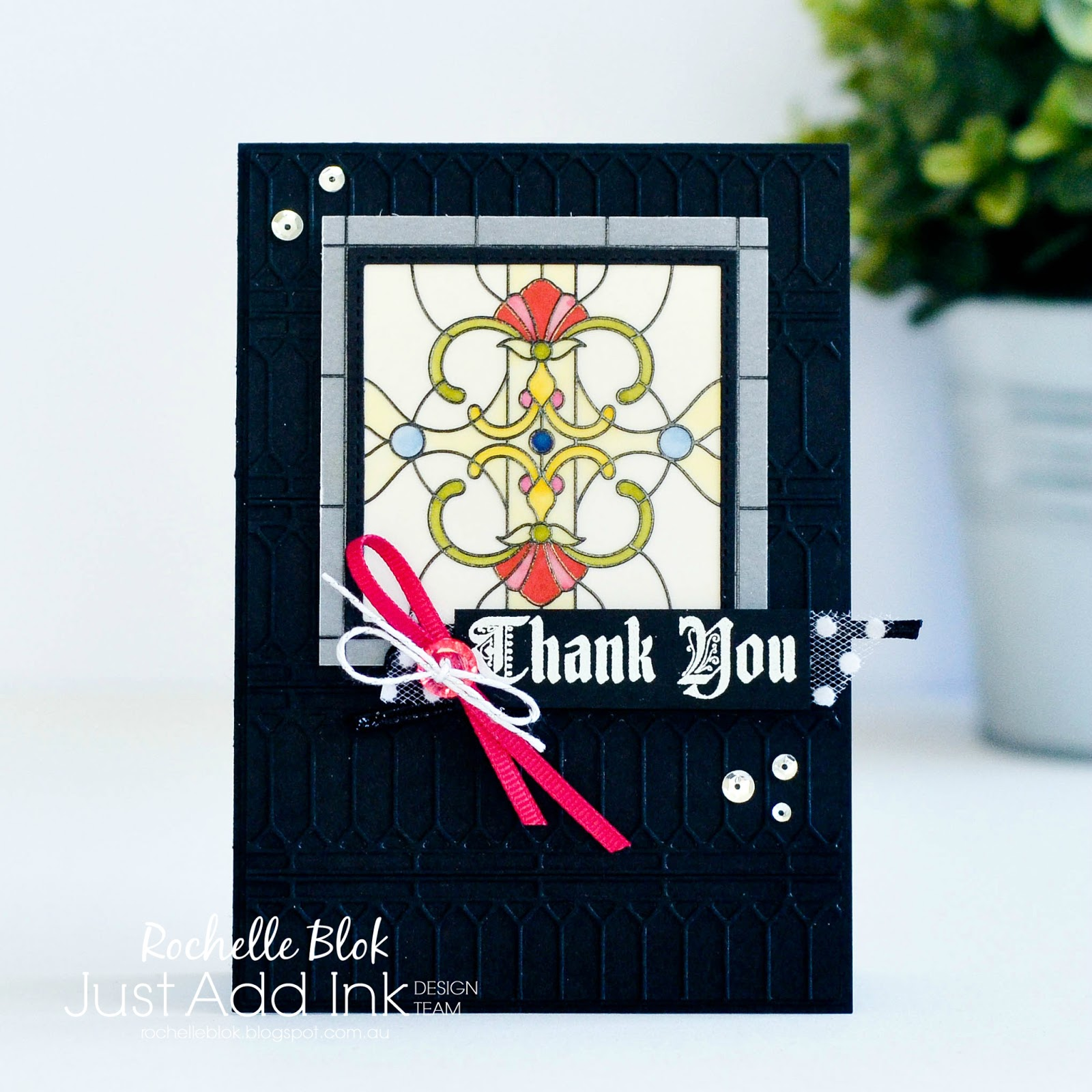 The Stamping Blok: Just Add Ink #414 | Just Add A Window/Frame