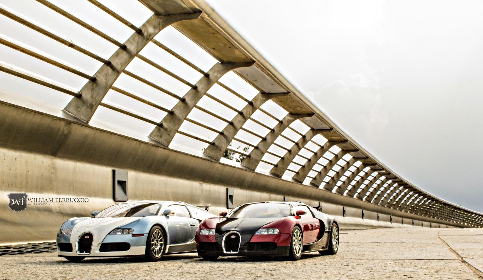 Bộ đôi Bugatti Veyron tuyệt đẹp xuất hiện tại Sài Gòn - Ảnh William Hoang