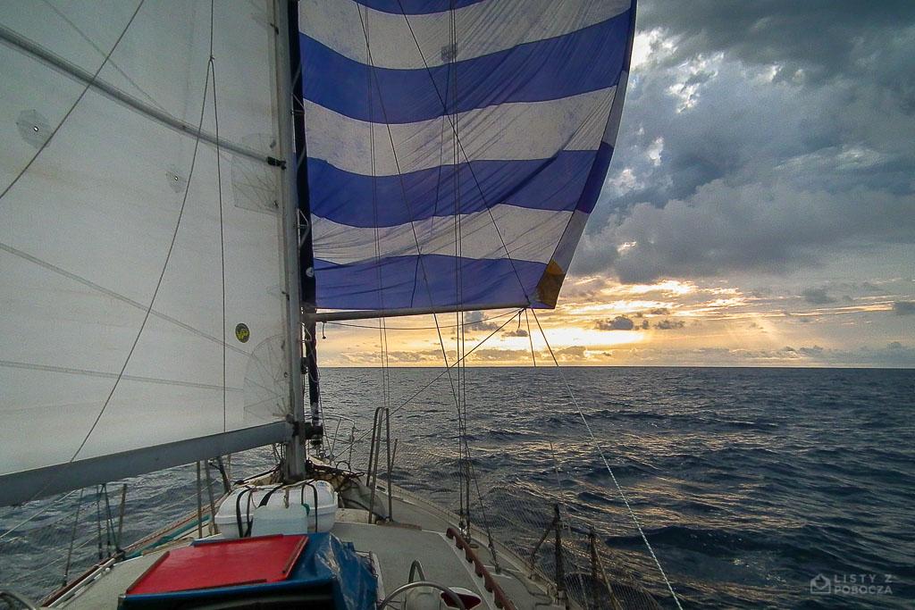 Loïck - pierwszy jachtostop Palucha przez Atlantyk