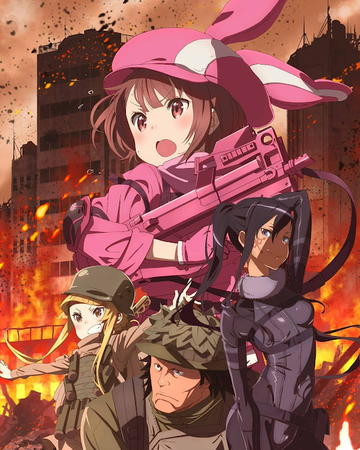 Sword Art Online Alternative - Gun Gale Online 06/??