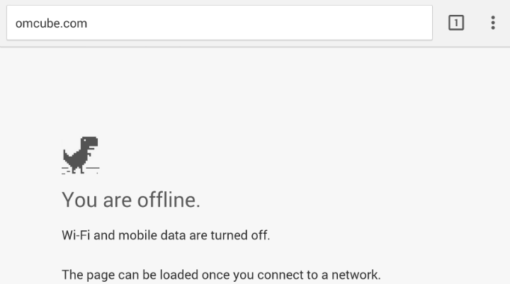 What is the story behind Chrome's 'unable to connect to ...