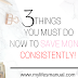 Save money consistently with these 3 easy steps