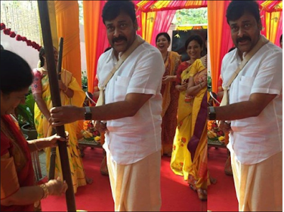 Chiranjeevi Daughter marriage celebrations