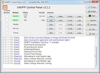 Cara Menginstall Xampp