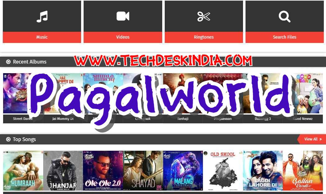 Pagalworld.com - Download Latest Free Mp3 Songs & Videos