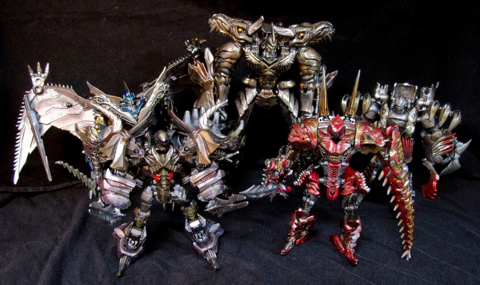 transformers age of extinction dinobots custom grimlock