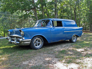 sedan delivery, 1957 chevy, 1957 chevrolet, ansen wheels, gasser, 1967 corvette,