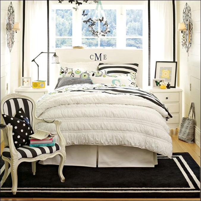Not Pink and Beautiful Teen Girl Bedrooms | Room Design ... on Teenage Rooms  id=80302
