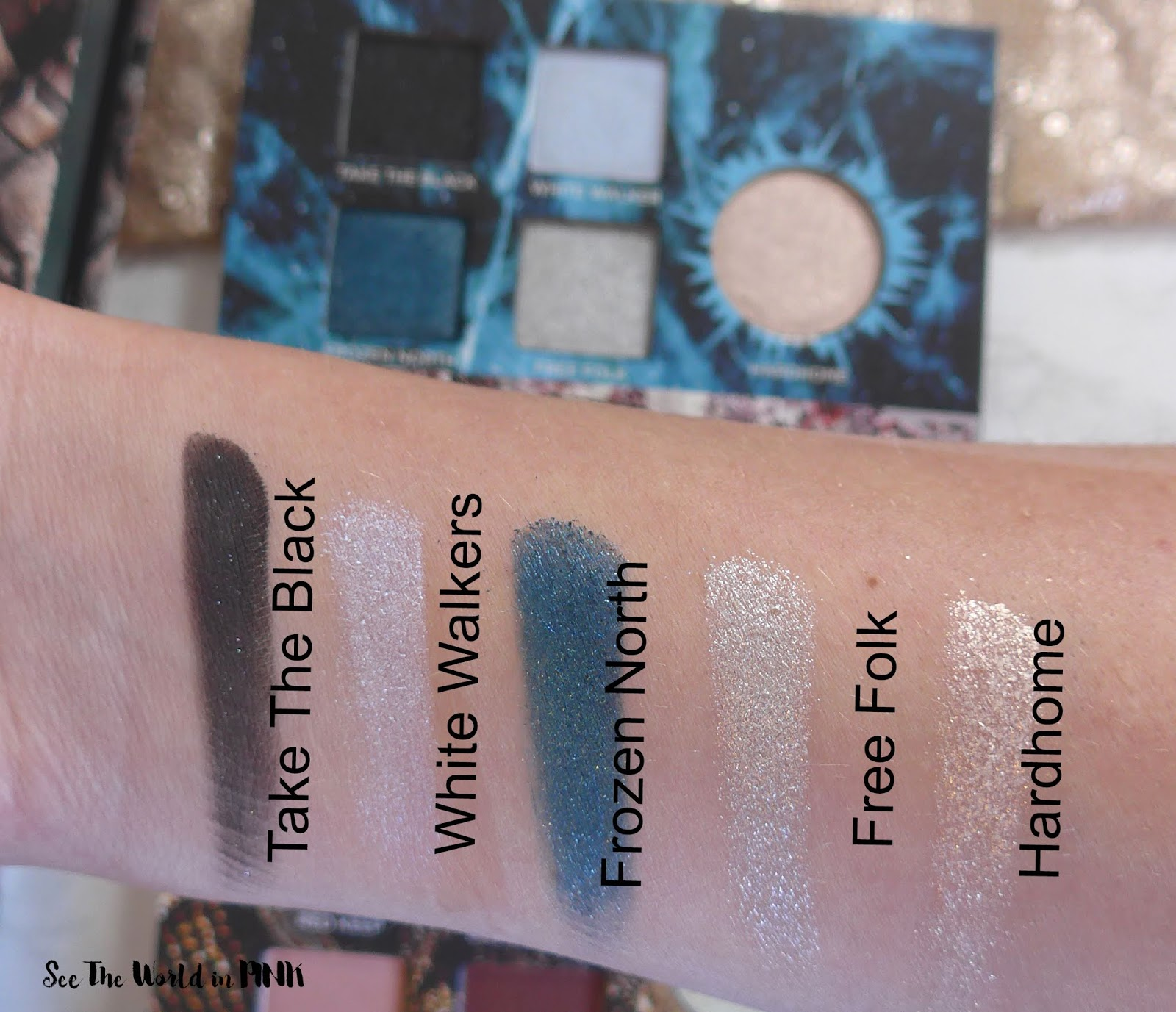 Urban Decay Game of Thrones Eyeshadow Palette