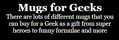 mugs for geeks