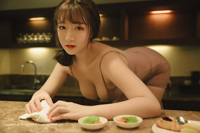 Hot girls Beauty Asian Girls sexy body model Mang Guo 11
