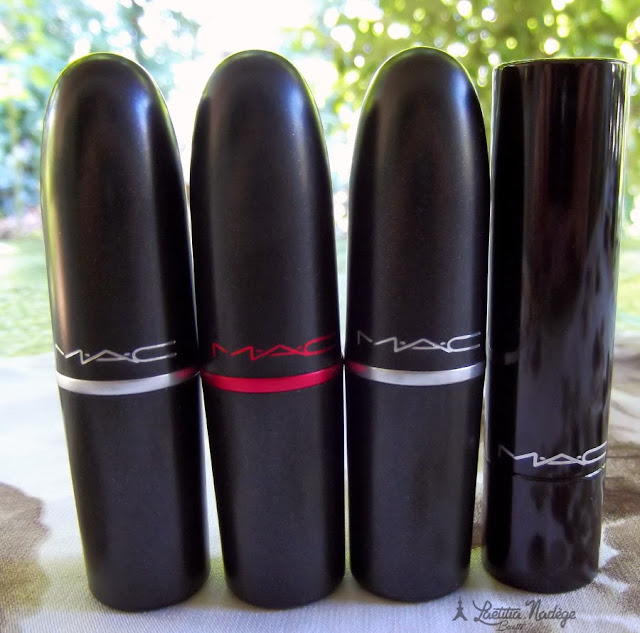 MAC COSMETICS Vegas Volt.Ultra Darling.Ruby Woo.Viva Glam Nicki Lipsticks.