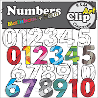 https://www.teacherspayteachers.com/Product/Numbers-Rainbow-Clip-Art-2601497
