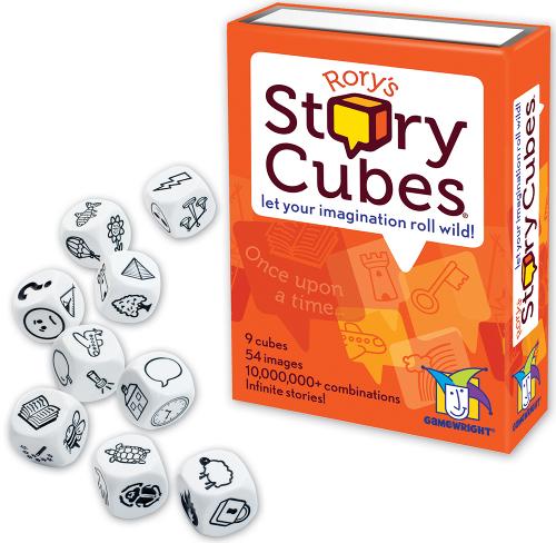 Rory's story cubes - Lanza los dados e imagina una historia