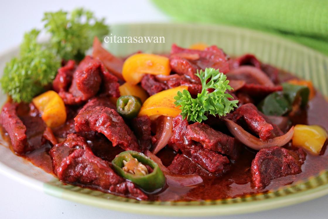 Sajian Dapur Bonda: Daging Masak Merah Ala Thai