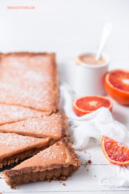 Blutorangen Rezept Tarte Kuchen