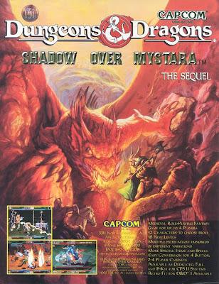 Dungeons & Dragons: Shadow over Mystara arcade game portable