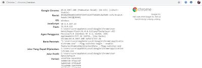 Mengetahui Versi Google Chrome Yang Kita Gunakan Saat Ini Di Laptop Atau Komputer