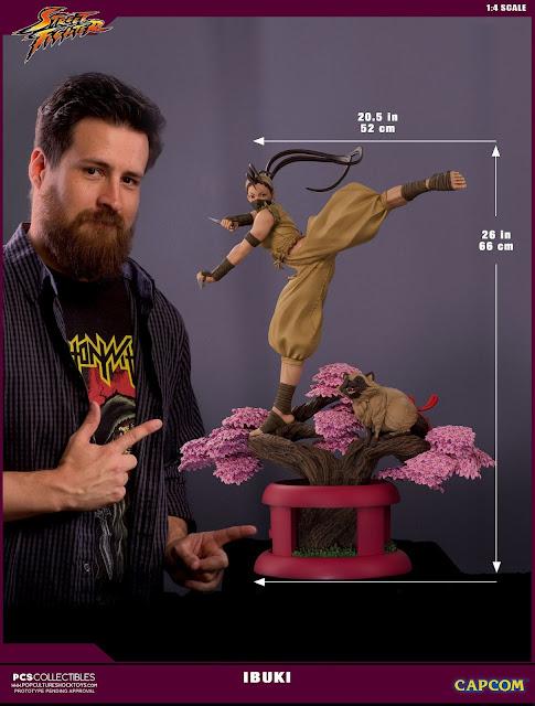 """""""Street Fighter"""" Ibuki Ultra Statue Series"""