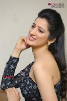 Telugu Actress Richa Panai Stills in One Shoulder Floral Long Dress at Rakshaka Bhatudu Movie Interview  0286.JPG