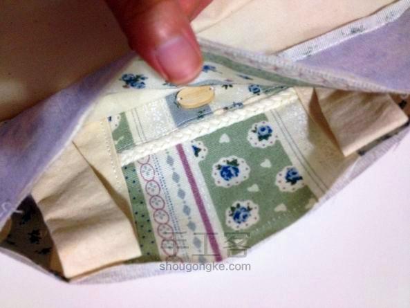 "Simple Bag Fabric ""Zakka"". Простая сумка из ткани"