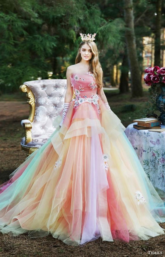 24e515b9f Vestidos de Princesa Novedosos y Elegantes para tus 15 Años - Artes ...