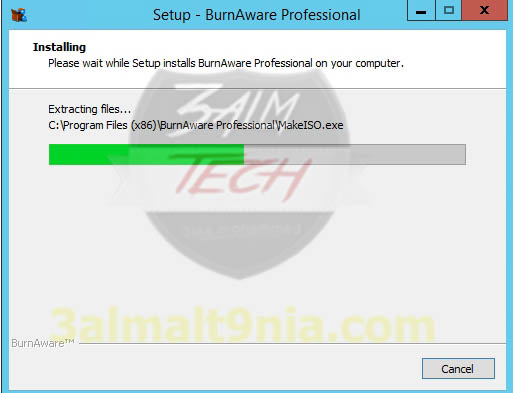 Burn Aware Professional 10.7 - عالم التقنيه