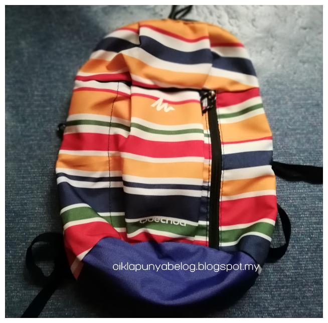 Yeayyyy hadiah giveaway dari blogger Nona Sani dah sampai.