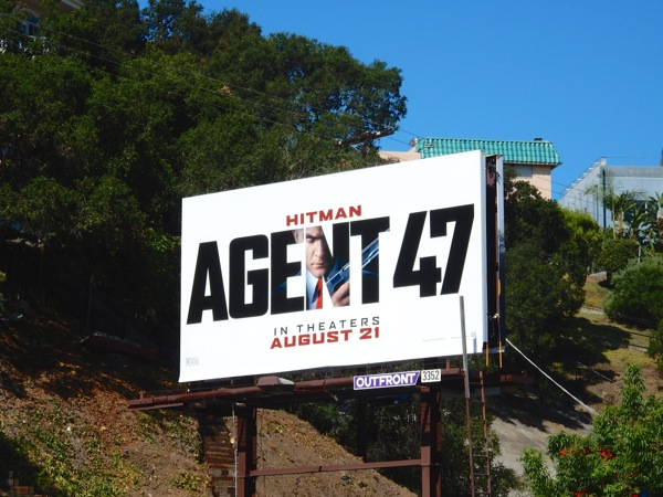 Hitman Agent 47 film billboard