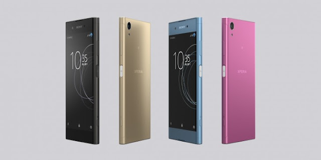 The Sony launched i to a greater extent than its flagship smartphone Sony Xperia XA1 Plus launched alongside 23MP bring upwards camera