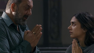 Sanjay Dutt And Aditi Rao Talking to Each-others