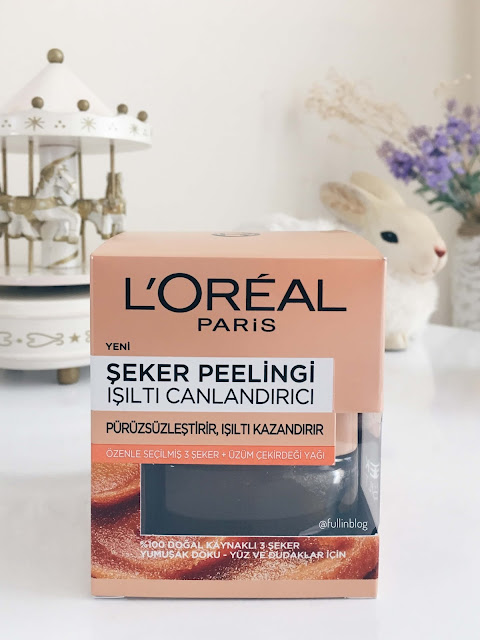loreal-paris-şeker-peelingi