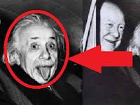 Misteri Foto Albert Einstein Menjulurkan Lidah Tahun 1951