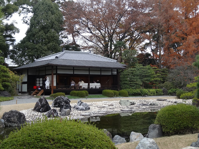 Maison de thé du château Nijo