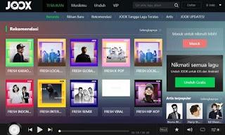 Download dan Install Joox for PC and Laptop Terbaru 2019