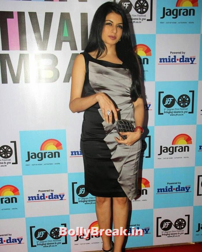 Bhagyashree Patwardhan, 5th Jagran Film Festival Red Carpet Pics