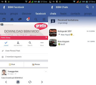 BBM MOD Facebook V3.0.1.25 Link Download