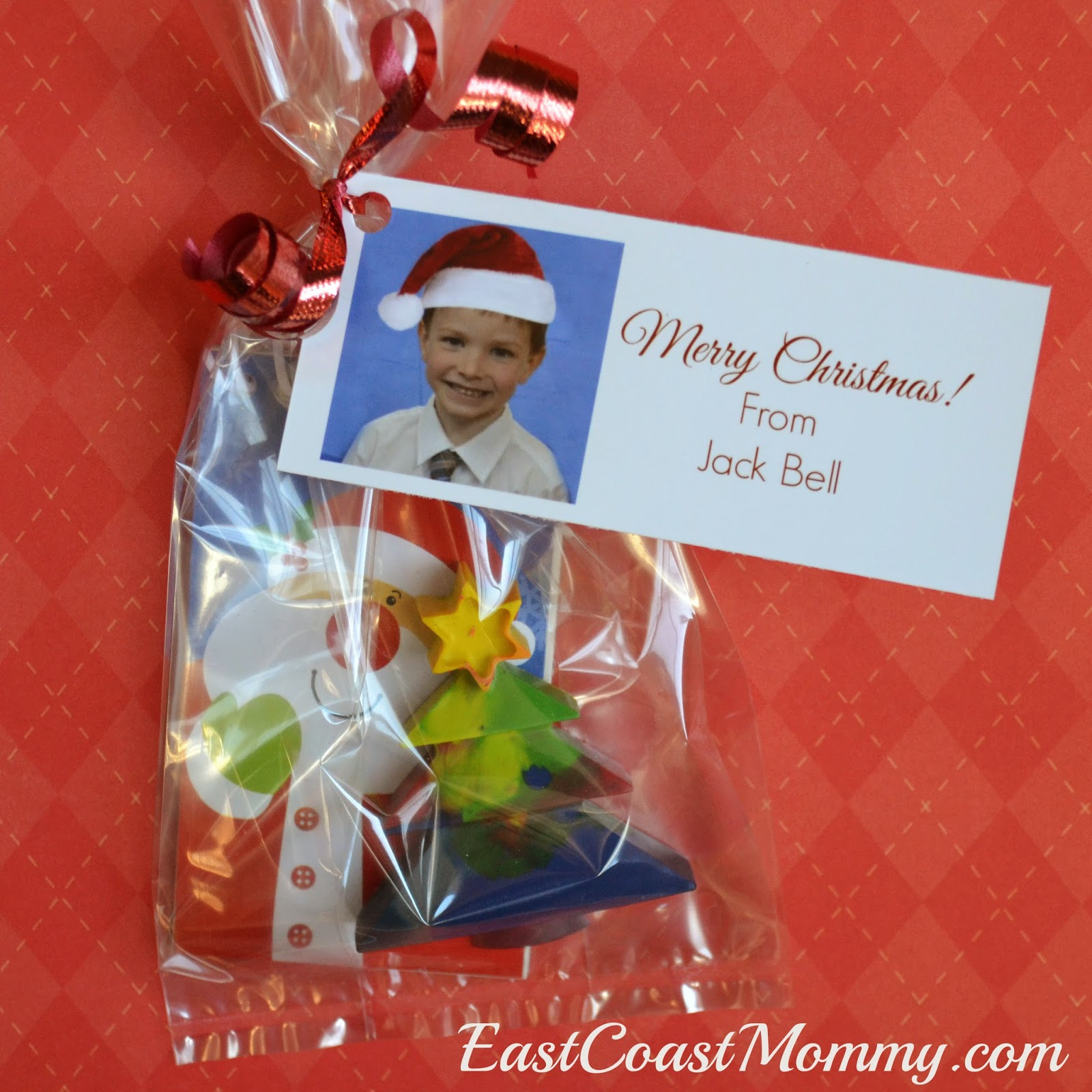 East Coast Mommy Recycled Crayons for Christmas t for classmates