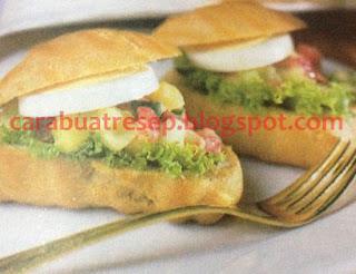 Foto Resep Kue Sus Basah Isi Salad