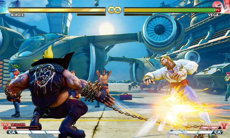 تحميل لعبة Street Fighter V