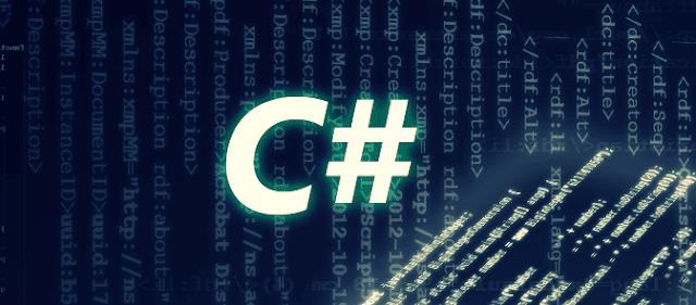 لغة-سي-شارب-#C