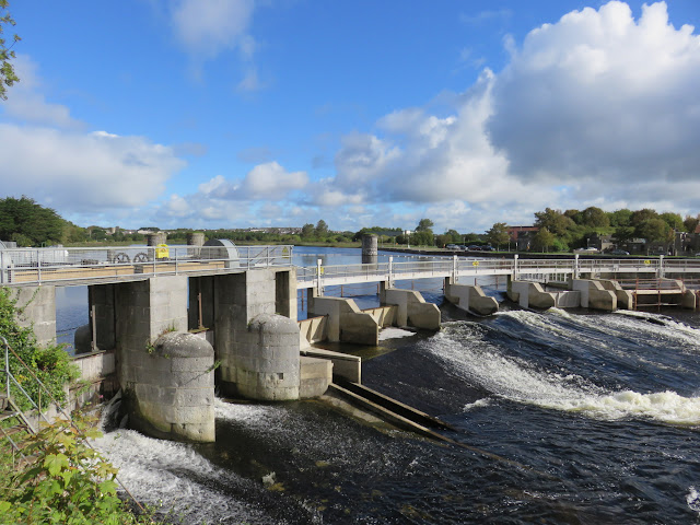 A Walking Tour of NUI Galway - Locks on the River Corrib