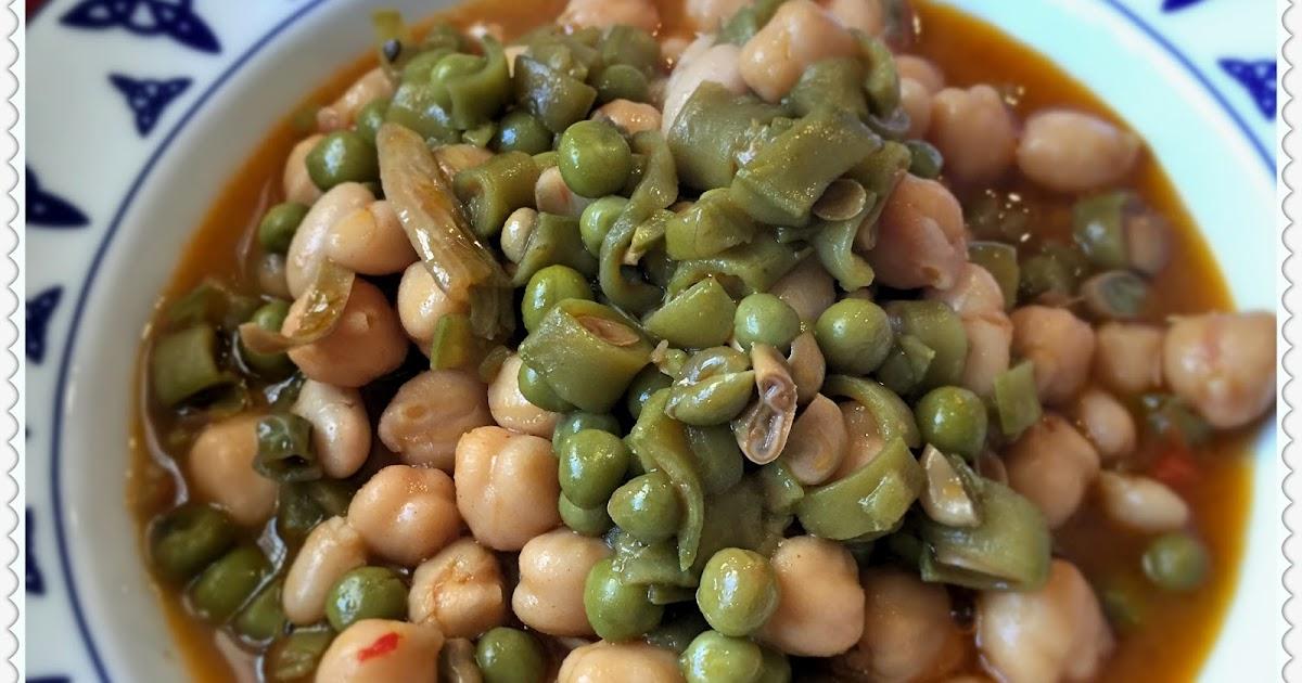 La olla vegetariana potaje de habas tiernas guisantes y for Siembra de habas y guisantes