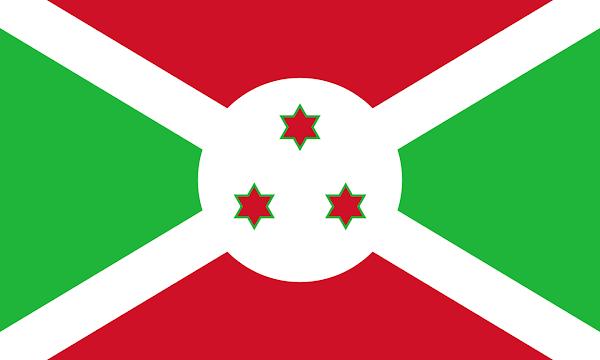 Logo Gambar Bendera Negara Burundi PNG JPG ukuran 600 px