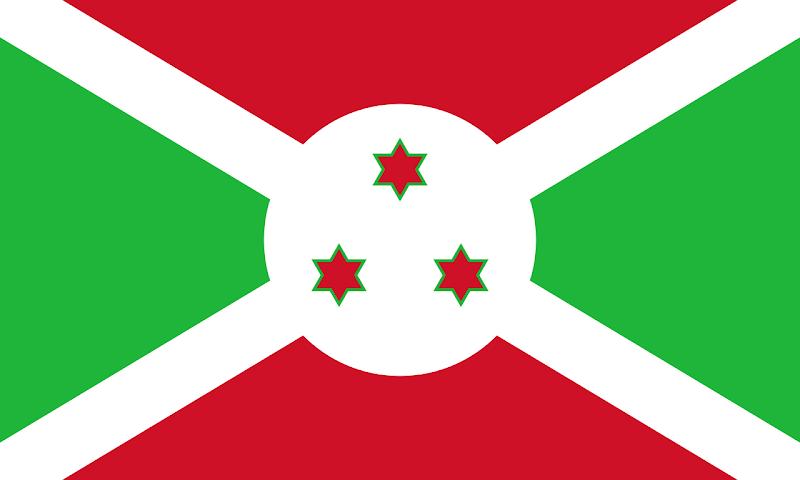 Logo Gambar Bendera Negara Burundi PNG JPG ukuran 800 px