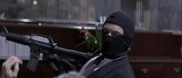The bank robbery in Michael Mann's Heat, released in 1995.