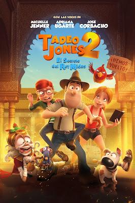 Tadeo Jones 2. El secreto del Rey Midas [Latino]