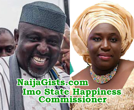 okorocha sister imo state happiness commissioner